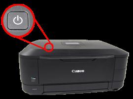 Tombol On Off Printer